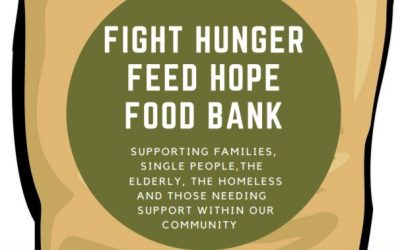 Fight hunger, feed hope food bank