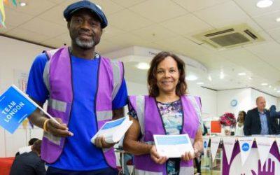 The Team London Volunteering recruitment website